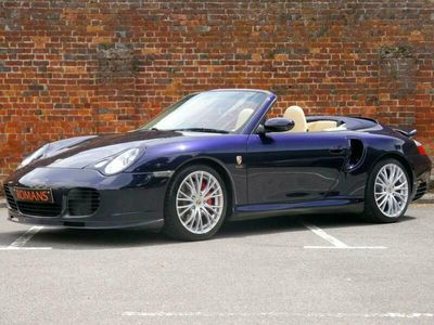 used Porsche 911 [996] Turbo Convertible 2dr Manual - Low Mileage - Big Specification