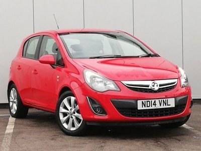 used Vauxhall Corsa 1.2 Excite 5dr [AC]