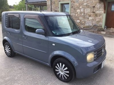 used Nissan Cube 1.4ltr AUTO 5 DOOR WAV wheelchair accessible vehicle