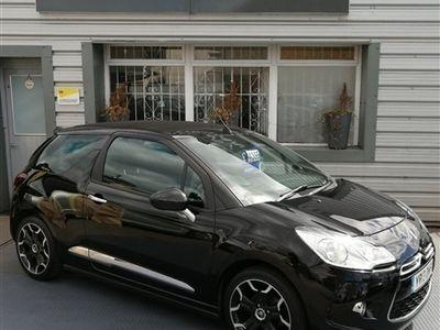 used Citroën DS3 Cabriolet 1.6 DSTYLE PLUS 3d 120 BHP