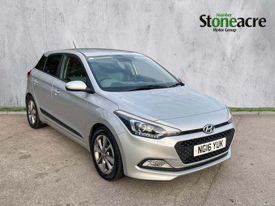 used Hyundai i20 1.2 Premium Hatchback 5dr Petrol (84 ps)