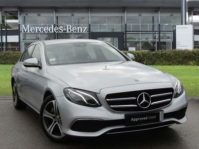 used Mercedes E220 E CLASSSE 4dr 9G-Tronic Automatic diesel saloon