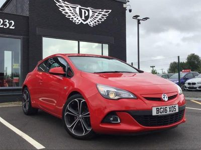 used Vauxhall Astra GTC ASTRA 1.4LIMITED EDITION S/S 3d 138 BHP - JUST ARRI