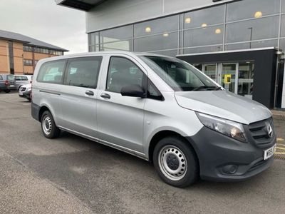 used Mercedes Vito 2.1 114 CDi PRO Tourer G-Tronic RWD L3 EU6 (s/s) 5dr Auto, 2019, not known, 18352 miles.