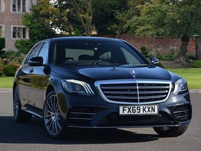 used Mercedes S350 S Class DieselL AMG Line Executive 4dr 9G-Tronic Saloon 2019