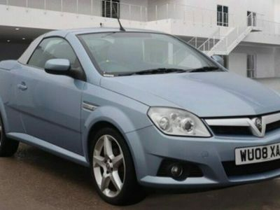 used Vauxhall Tigra 1.4i 16V Exclusiv 2dr 12 MONTHS MOT. Full Black Leather Sports Seats. Electric folding roof.