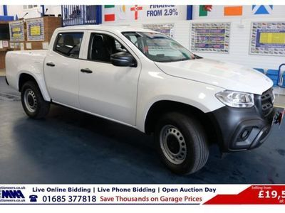 used Mercedes 250 X Class2.3 PURE D 190PS 4MATIC DOUBLE CAB PICK UP, 2018, not known, 12000 miles.