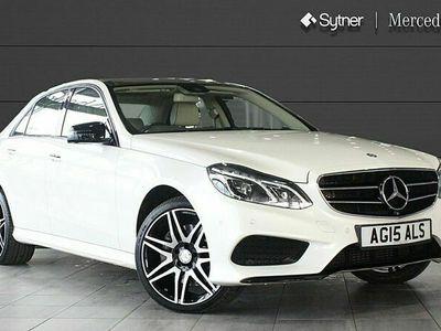 used Mercedes E350 E ClassBlueTEC AMG Night Ed Prem+ 4dr 9G-Tronic 3.0