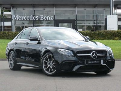 used Mercedes E63 AMG E CLASS AMG4Matic+ Premium 4dr 9G-Tronic Automatic amg saloon