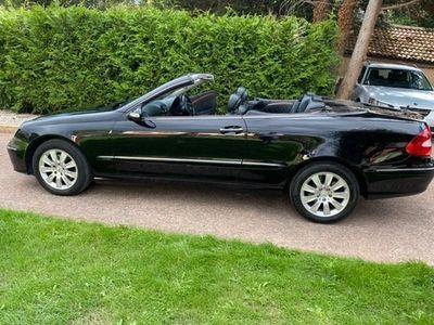 used Mercedes CLK200 CLK 1.8Kompressor Elegance Cabriolet 2dr