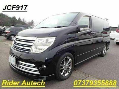 used Nissan Elgrand Rider Autech Sunroof Spoiler leather 3.5 5dr