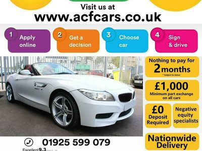 used BMW Z4 Z4SDRIVE20i M SPORT ROADSTER - CAR FINANCE FR £75 PW Convertible 2014