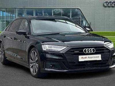 used Audi A8L Sport 50 TDI quattro 286 PS tiptronic