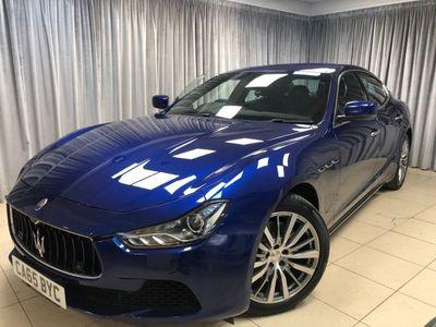 used Maserati Ghibli 3.0 V6 4d 330 BHP