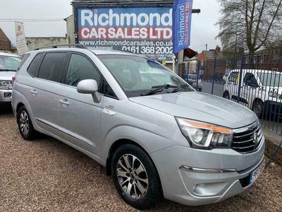 used Ssangyong Rodius 2.2 ELX 5d 176 BHP