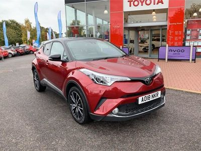 used Toyota C-HR 1.2T Red Edition 5Dr