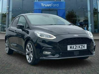used Ford Fiesta 1.0 EcoBoost Hybrid mHEV 125 ST-Line X Edition 5dr