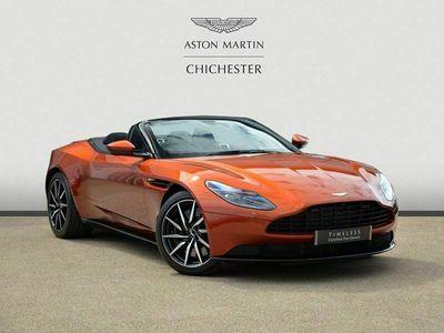 used Aston Martin DB11 V8 VOLANTE 4.0 2dr