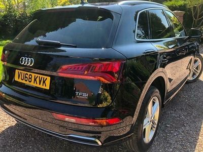 used Audi Q5 SUV S Line 2.0 TFSI 252PS Quattro S Tronic auto 5d