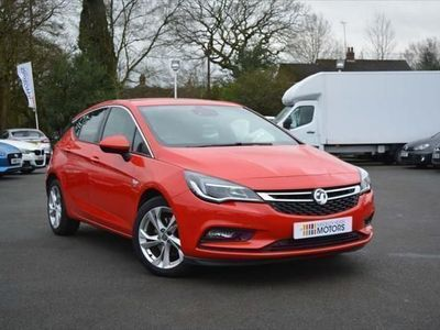 used Vauxhall Astra 1.6 CDTi BlueInjection SRi (s/s) 5dr