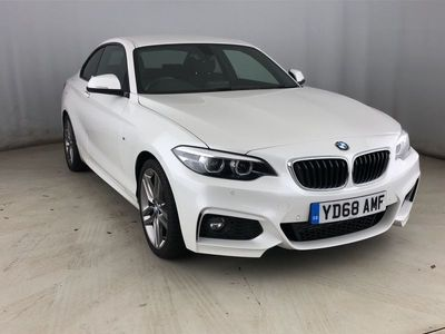 used BMW 220 2 Series D M Sport 2Dr [Nav] Step Auto