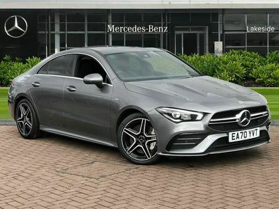 used Mercedes CLA35 AMG  CLA4Matic 4dr Tip Auto URBAN GUARD Vehicle Protection