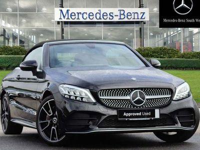 used Mercedes C300 C-ClassAMG Line Cabriolet Auto 2.0 2dr