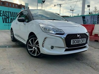 used DS Automobiles DS3 1.2 PureTech Connected Chic EAT6 (s/s) 3dr 18 MONTHS FREE GOLD WARRANTY