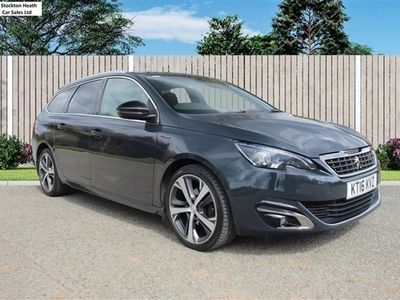 used Peugeot 308 1.6 BLUE HDI S/S SW GT LINE 5d 120 BHP AVAILABLE TO TEST DRIVE