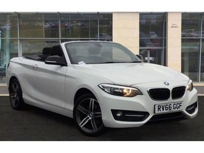 used BMW 218 2 Series i Sport 2dr