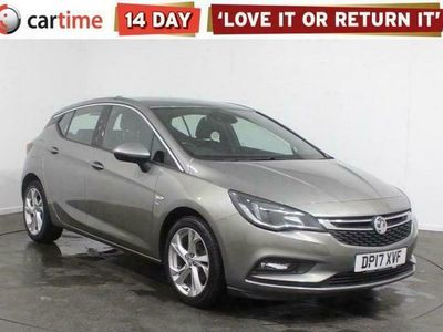 used Vauxhall Astra 1.0 SRI NAV ECOFLEX S/S 5d 104 BHP Your dream car can become a reality with cartime's fantastic finance deals.