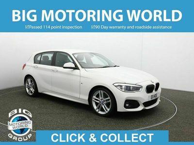 used BMW 116 1 Series D M SPORT Hatchback 2017