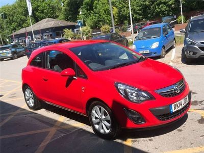 used Vauxhall Corsa 1.2 Excite 3Dr [Ac]