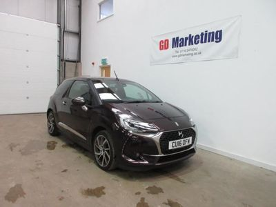 used DS Automobiles DS3 Cabriolet 1.2 PureTech 130 Prestige 2dr [Nav / Camera][¿20/Year Road Tax]