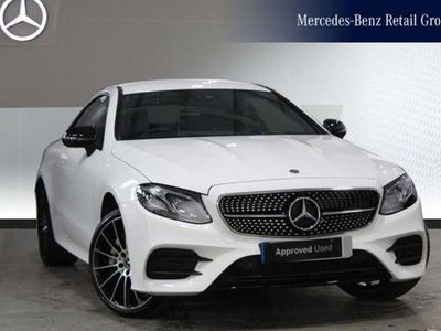 used Mercedes E50 AMG E-Class4Matic AMG Line Premium 2dr 9G-Tronic