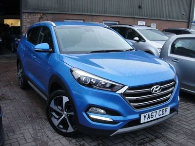 used Hyundai Tucson 1.6 T-GDI SPORT EDITION 5d 175 BHP SATNAV, CAMERA, LEATHER, SENSORS