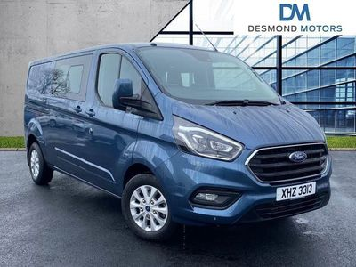 used Ford Custom Transit2.0 Ecoblue 170Ps Low Roof D/Cab Limited Van