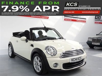 used Mini One Cabriolet 1.6 ONE 2d 98 BHP