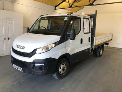 used Iveco Daily 35C13 UTILITY CAB DROPSIDE
