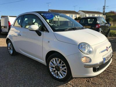 used Fiat 500C 1.2 Lounge Dualogic (s/s) 2dr