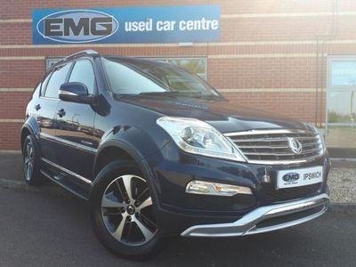 used Ssangyong Rexton W 2.2 ELX 5dr Tip Auto
