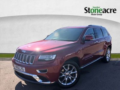 used Jeep Grand Cherokee 3.0 V6 CRD Summit SUV 5dr Diesel Auto 4WD (247 bhp)