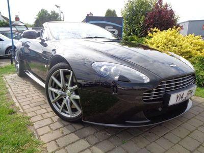 used Aston Martin V8 Vantage 4.7 SROADSTER 2d AUTO 430 BHP **12 Months Mot 6 Months Warranty**