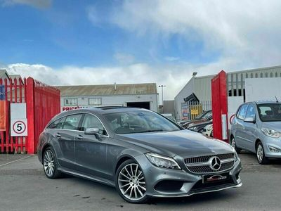 used Mercedes CLS220 Shooting Brake CLS 2.1 d AMG Line (Premium Plus) G-Tronic+ (s/s) 5dr