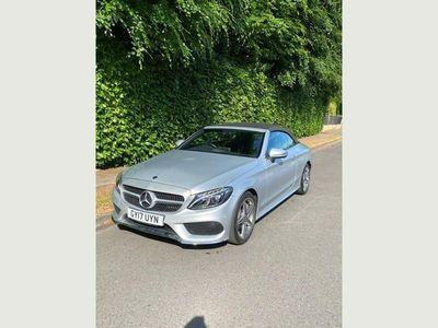 used Mercedes C250 C Class 2.1AMG Line (Premium Plus) Cabriolet G-Tronic+ (s/s) 2dr