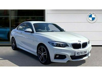 used BMW 218 2 Series d M Sport 2dr [Nav]