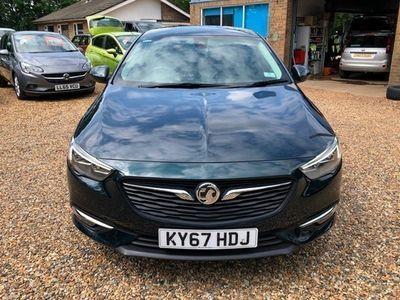 used Vauxhall Insignia Grand Sport SRi Nav 1.5 (165PS) Turbo 5d