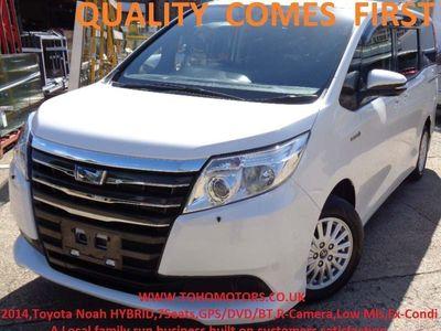 used Toyota Noah HYBRID,EURO6,7Seat,GPS/DVD/BT,R-Camera 1.8 5dr
