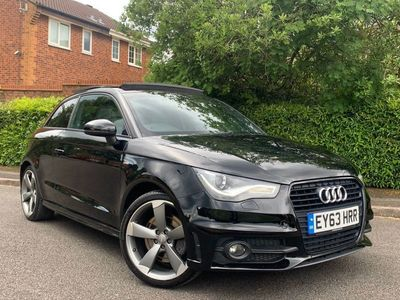 used Audi A1 1.4 TFSI Black Edition S Tronic 3dr