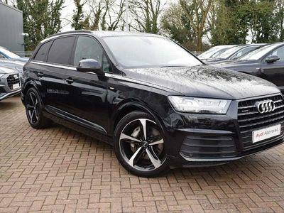 used Audi Q7 50 Tdi Quattro Black Edition 5Dr Tiptronic